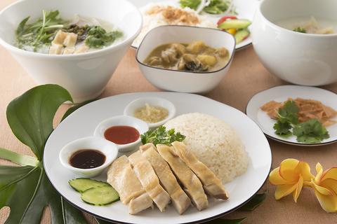 新宿で「シンガポールチキンライス」が気軽に食べられるお店♪カフェ使いも◎♪