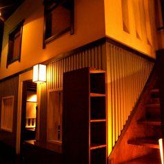 【個室】町家の町並みのような空間