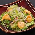 料理メニュー写真海老マヨと水菜のサラダ(レギュラー)