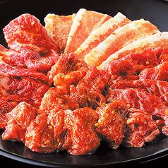 料理メニュー写真定番4種盛り (たれ/塩だれ)