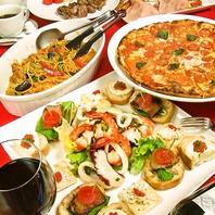イタリアを意識した食堂