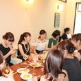 【~貸切宴会/打ち上げ/結婚式二次会に最適な空間~】70人(店舗貸切時最大の着席人数を表記。立食形式時は100名程度まで可能です。