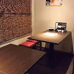 2名様~ご利用いただけるテーブル席!落ち着いた雰囲気のテーブル席はカップルにもオススメです☆