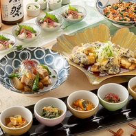 豪華なメイン料理を堪能!京風創作和食