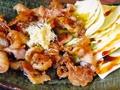 料理メニュー写真鳥皮 (塩焼・タレ焼・ポン酢)