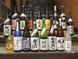 熊本県産の焼酎や地酒も豊富に取り揃え!