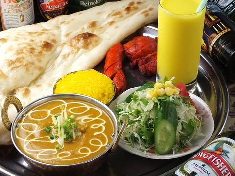 インドカレー、タイ料理を気軽に楽しんでください。お持ち帰りもできますよ☆