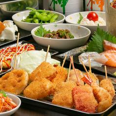 夢 大阪新世界串カツのおすすめ料理1