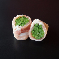 ランキング第2位→肉巻き野菜「アスパラ」