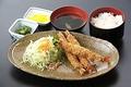 料理メニュー写真エビフライ定食
