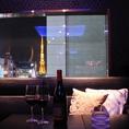 東京タワーの見えるカップル席夜景を楽しみながらごゆっくりお話しを楽しんで頂けます。デートや記念日、サプライズなどでご利用してみてはいかがでしょうか?2名対応