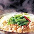 料理メニュー写真牛もつ鍋(醤油・白味噌)