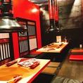 掘り炬燵席完備の焼肉店です。様々なタイプの個室があり、大型宴会にもオススメです!お気軽にお問い合わせください!