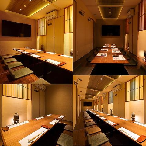 福岡の活イカともつ鍋を個室で愉しめる海鮮居酒屋 喜水亭 和樂 大名店 店舗イメージ12