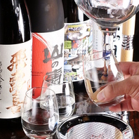 珍しい日本酒サーバー完備♪
