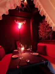 【Antique】2~6名様までOKのソファー個室※個室はサービス料として会計時に10%頂きます。