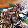 料理メニュー写真鶏もも藁焼き