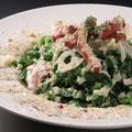 料理メニュー写真ケールのシーザーサラダ