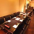 テーブル席は10名以上でも半個室対応可能です★お誕生日のお祝いは個室プライベートでお楽しみください♪