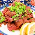 料理メニュー写真氷花特製牛タン味噌焼き