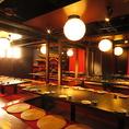 『大型宴会・飲み会・パーティーなど』お席準備いたします。貸切は最大150名様迄対応可能です。※写真は系列店