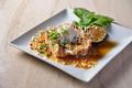 料理メニュー写真銘柄鶏のソテー照り玉マヨネーズ