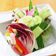 季節の食材を使用し、野菜の旨みを引き出すお料理◎