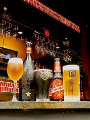テラスでこだわりビール・ワインで乾杯!