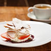 【スイーツ】パティシエの作る自家製デザート
