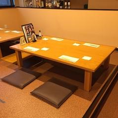 2階:4名様の掘りごたつ式のお座敷席です。