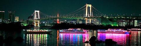 朝、昼、夕方、夜。様々な東京をお楽しみ下さい。