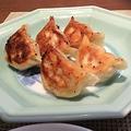 料理メニュー写真焼き餃子(5個)