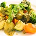 料理メニュー写真コロコロ野菜のバーニャカウダ・ソースがけ