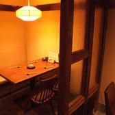 少人数でも使える個室もあります。