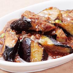 茄子と挽肉の香り辛口炒め(マーボーナス)