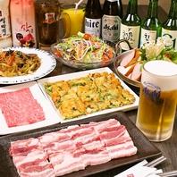大人気!サムギョプサル食べ放題&飲み放題が2980円!