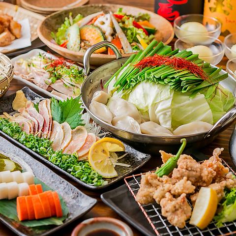 本格九州料理が楽しめる♪18名様まで可能な座敷や30名~40名で貸切も可能!