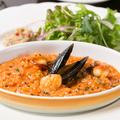 料理メニュー写真海の幸のトマトクリームリゾット