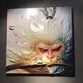 壁に貼られた絵画が本場の雰囲気を演出♪当店ご利用の際は是非鑑賞ください。