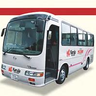 15名様、3500円以上のご利用で無料送迎バスも!