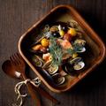 料理メニュー写真ムール貝のアクアパッツァ風仕立て