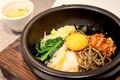 料理メニュー写真石焼ビビンバ(スープ付)/石焼めんたいビビンバ(スープ付)