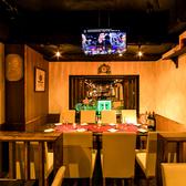 半個室は最大8名様までご案内可能です。使い勝手抜群の掘りごたつ席。20名様以上なら貸切も可能です!新宿東口での宴会、女子会等お問い合わせください。会社宴会にオススメ。