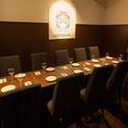 個室は大小各種ご用意しております♪歓送迎会や結婚式の二次会、ちょっとした会食にもお勧めです