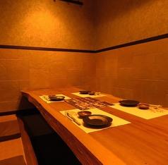 個室は5名様からご予約可能。女子会にも◎