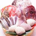 新鮮な食材勢ぞろい!!海鮮も肉も楽しめちゃいます!!