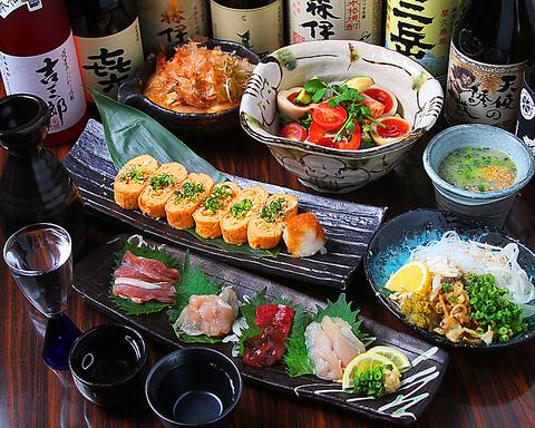 南九州から産地直送の宮崎地鶏や岡山県産素材にこだわった料理をお楽しみください!
