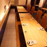 テーブル席は大人数でもご利用いただけます。