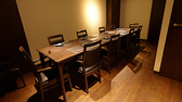 創作和食 堂間の雰囲気2