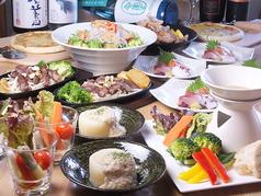 KAJI PLA DININGのコース写真